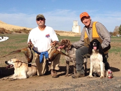 Rob & Kelly Bird Hunt 2014